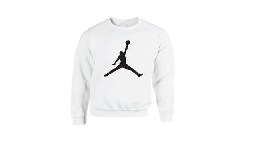 sudadera hoodie básica logo jordan basquetbol