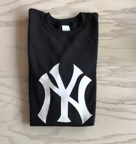 sudadera hoodie básica new york yankees béisbol baseball