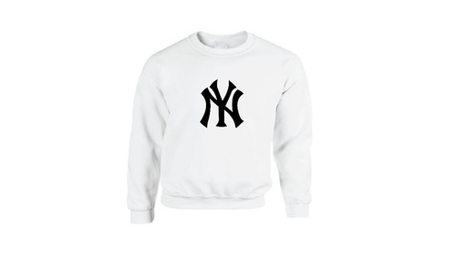 sudadera hoodie básica new york yankees béisbol envío gratis