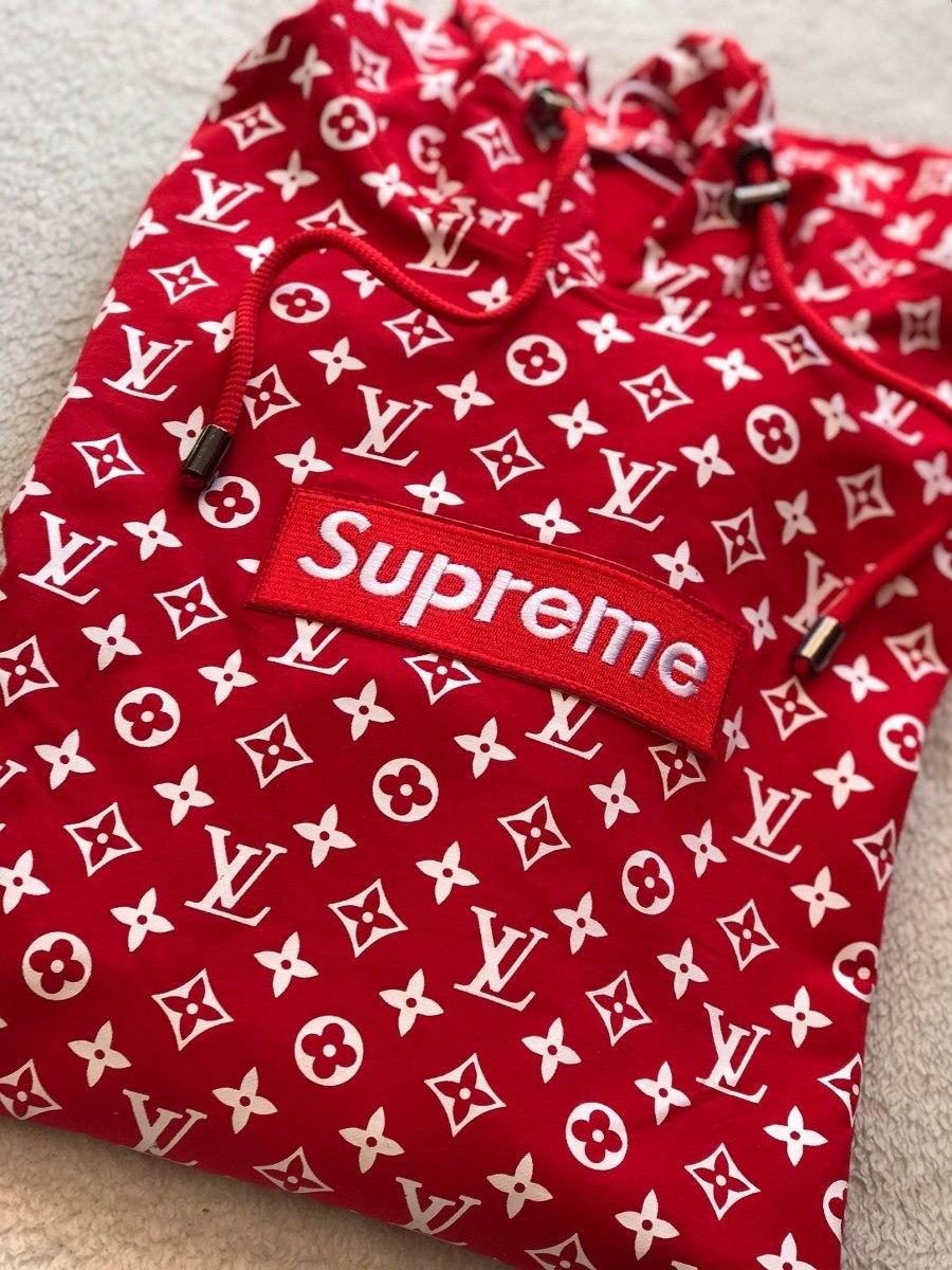 1f652a8a31db sudadera hoodie supreme x lv box logo red 1 1 envio gratis. Cargando zoom.