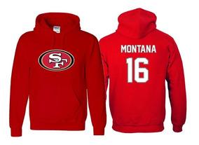 uk availability 3f308 58098 Sudadera Joe Montana Jersey San Francisco 49ers Nfl