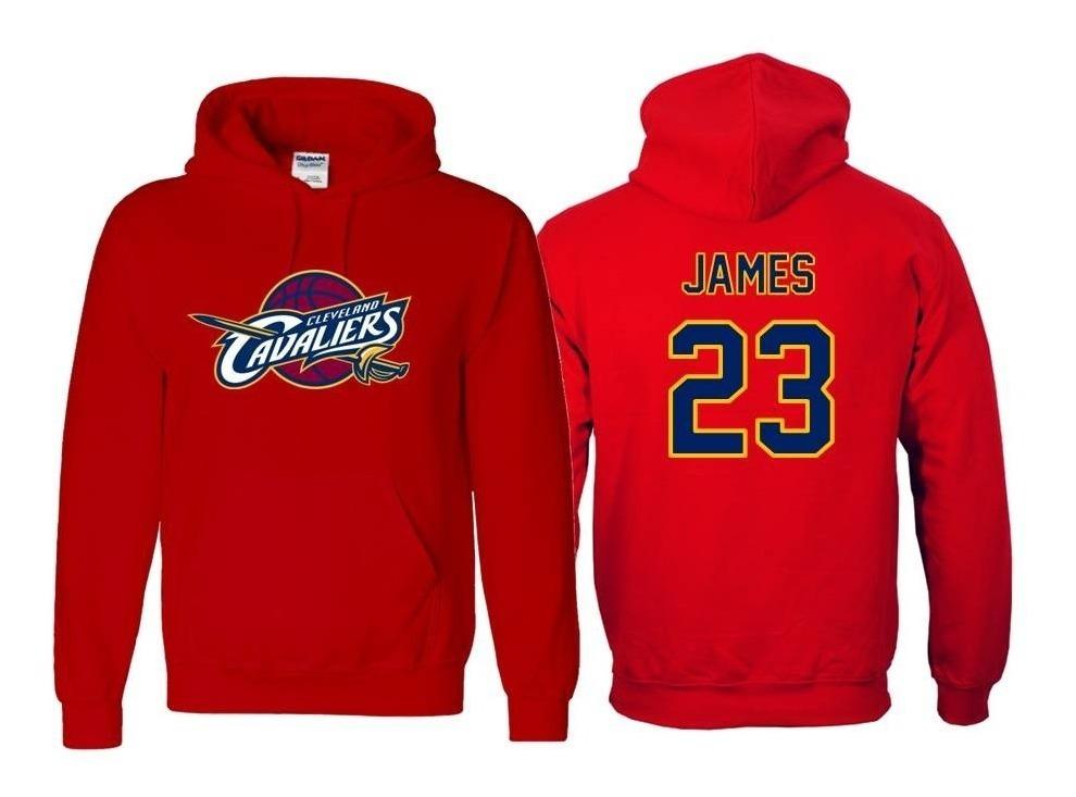 lowest price a0c93 fa6ea Sudadera Lebron James Jersey Cleveland Cavaliers Nba
