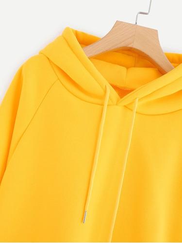 sudadera lisa (varios colores) ropa mujer blusas dama