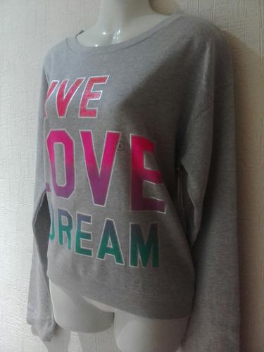 sudadera live love dream aéropostale