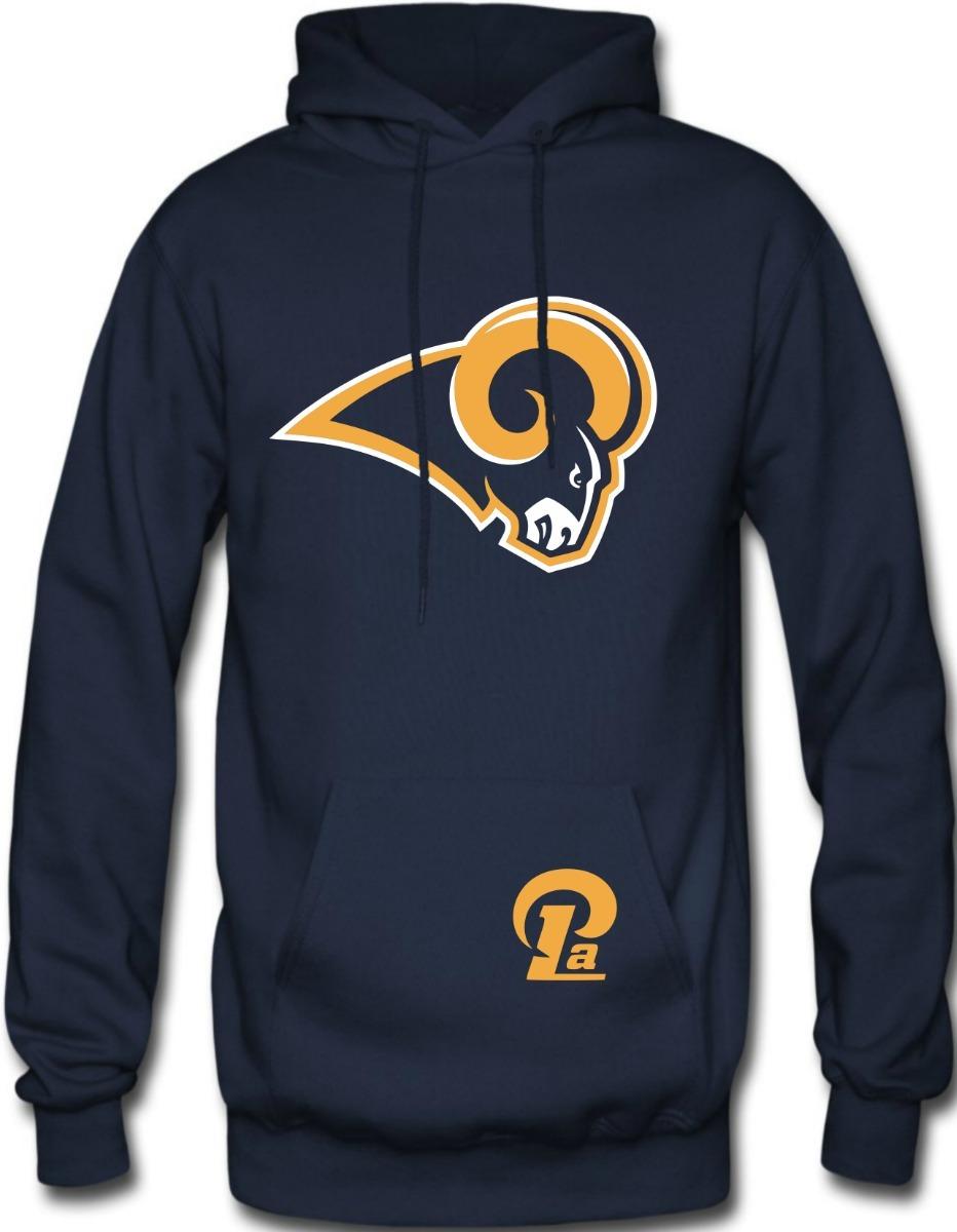 3bfc698e5 Sudadera Los Angeles Rams Nfl Hoodie Capucha Cangurera - $ 429.00 en ...