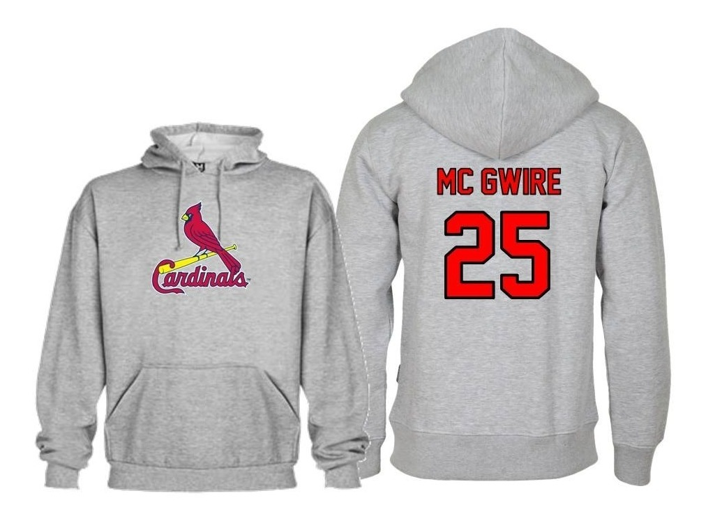 new product c6bfb e35ba Sudadera Mark Mcgwire Jersey Saint Louis Cardinals Mlb