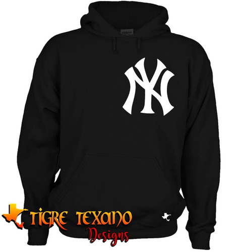 sudadera mlb yankees yanquis new york  tigre texano designs