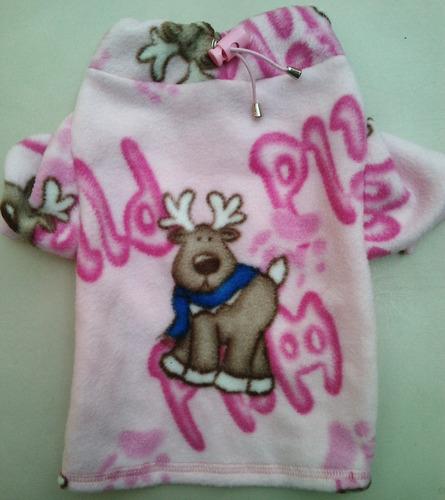 sudadera navideña estampada reno talla 5 rosa envío gratis