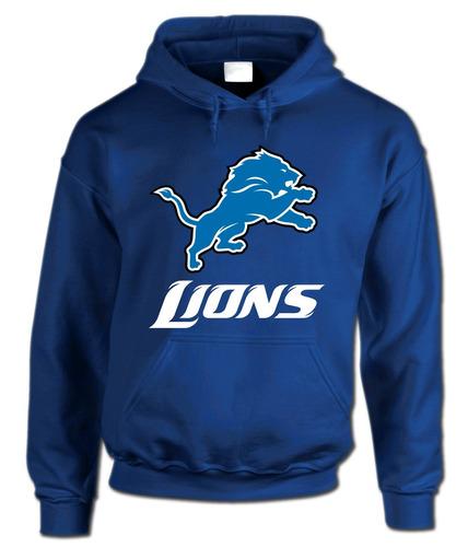 sudadera nfl lions detroit leones superbowl