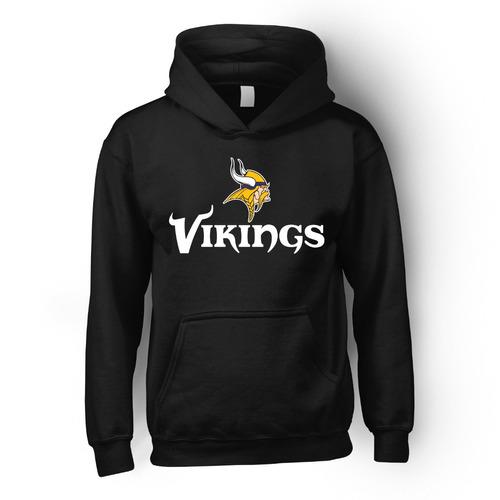 sudadera nfl vikings minnesota vikingos superbowl