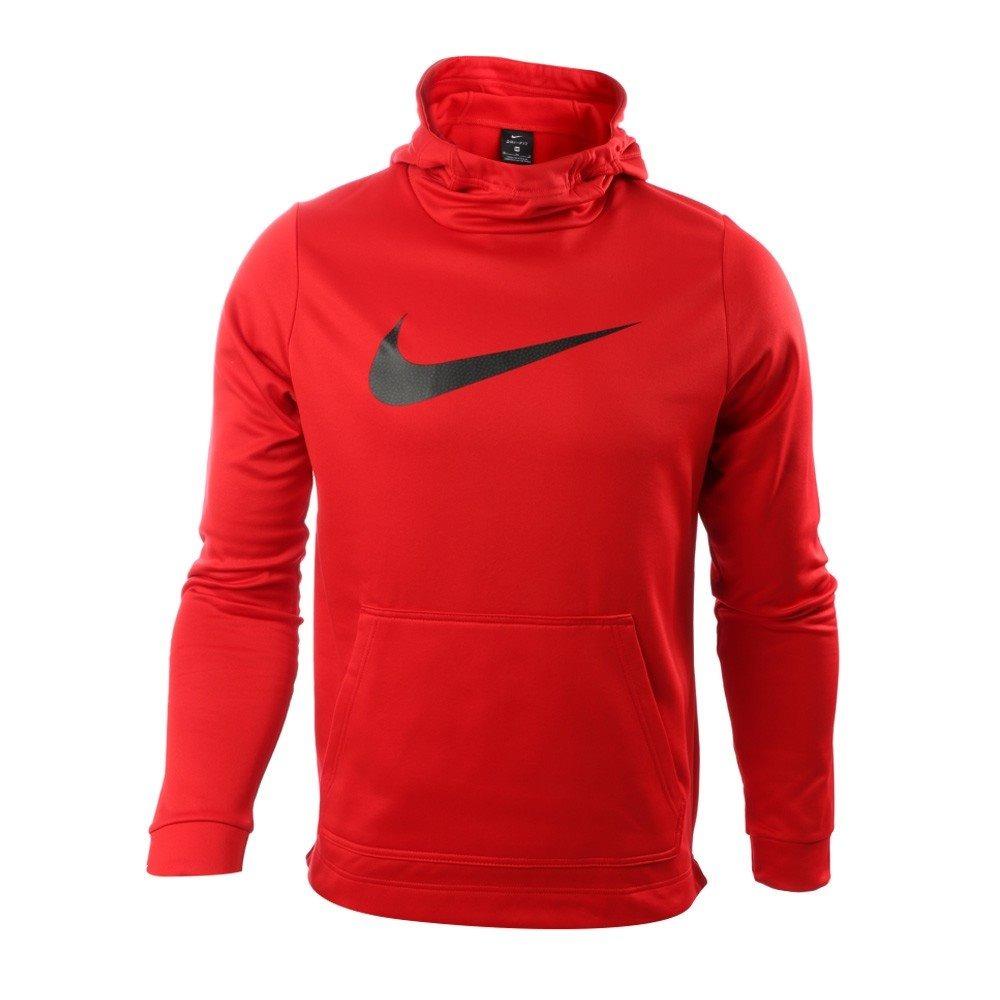 en pies imágenes de Buenos precios Zapatos 2018 Sudadera Nike Caballero Therma Hbr Roja
