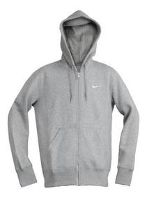 Sudadera Nike Club Fz Hoody Swoosh Gorro Capucha Cierre