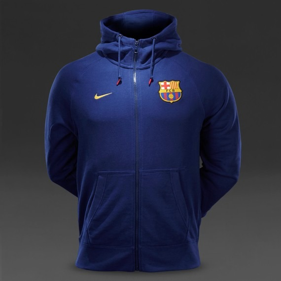 deaf64bd1ad6f Sudadera Nike Fc Barcelona Authentic - Azul Marino - S  269