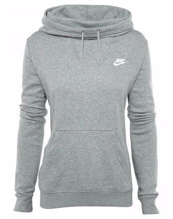 66e1a29e0cbf Sudadera Nike Mujer Gris