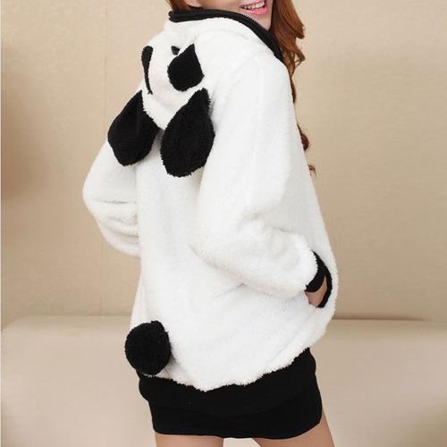 sudadera oso panda capucha hoodie unisex moda kawaii japón