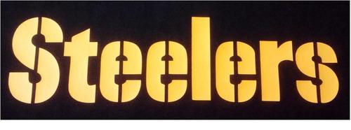 sudadera pittsburgh steelers tipo nfl (personalizada) xxl