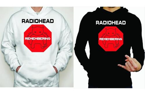 sudadera radiohead sudadera, playera y chamarra
