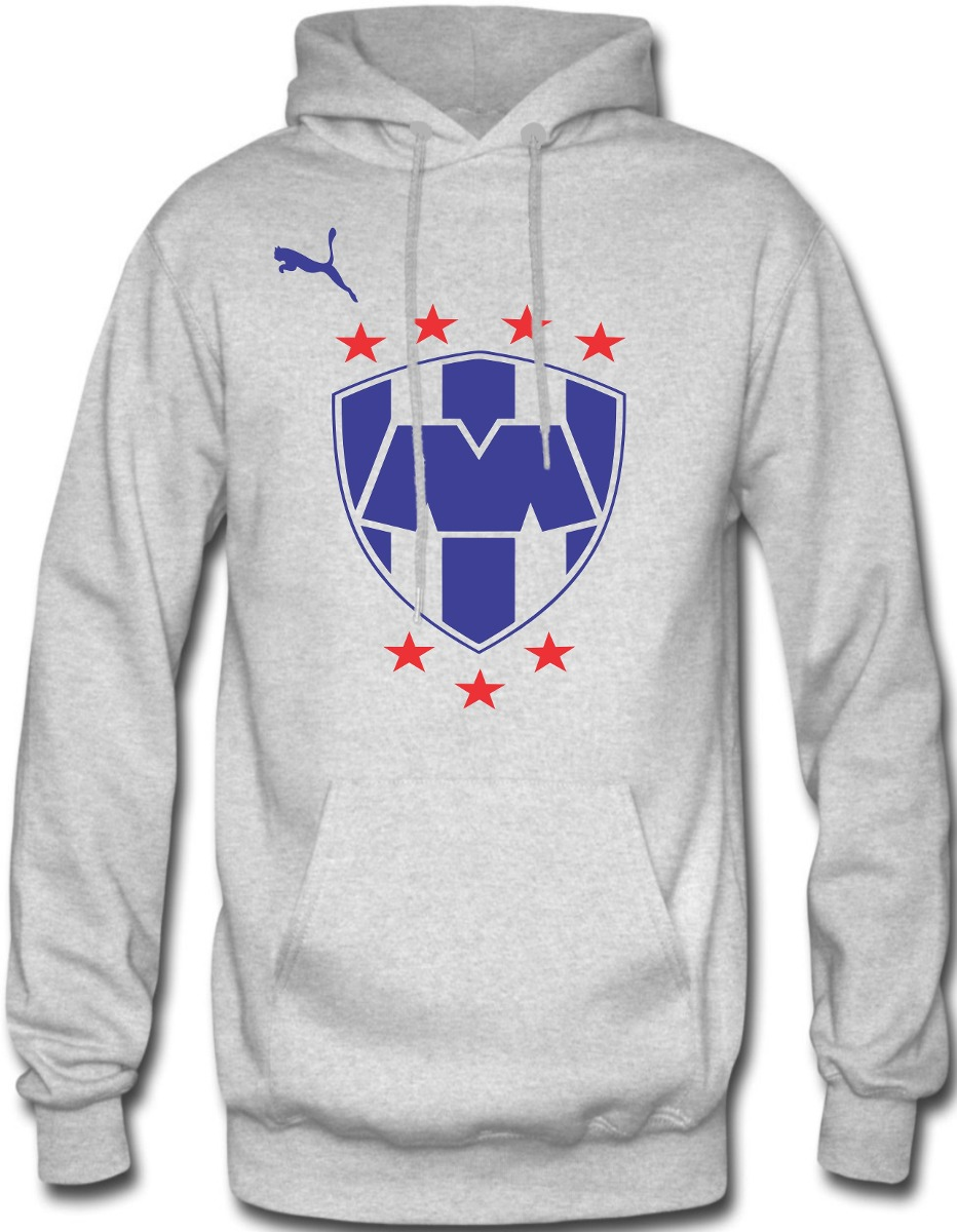 7813786f479ea sudadera rayados de monterrey hoodie capucha con cangurera. Cargando zoom.
