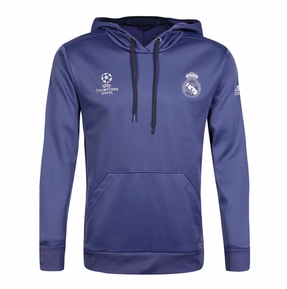3c2395d38 Sudadera Real Madrid 2016-2017 Violeta - $ 2,000.00 en Mercado Libre