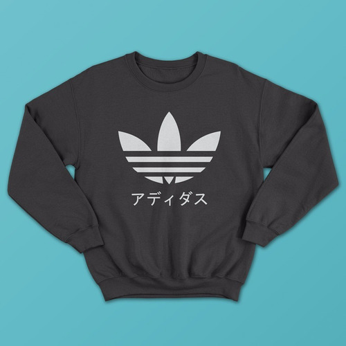 sudadera streetwear adidas japones