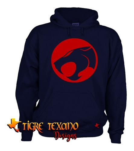 sudadera super héroes thundercats by tigre texano designs