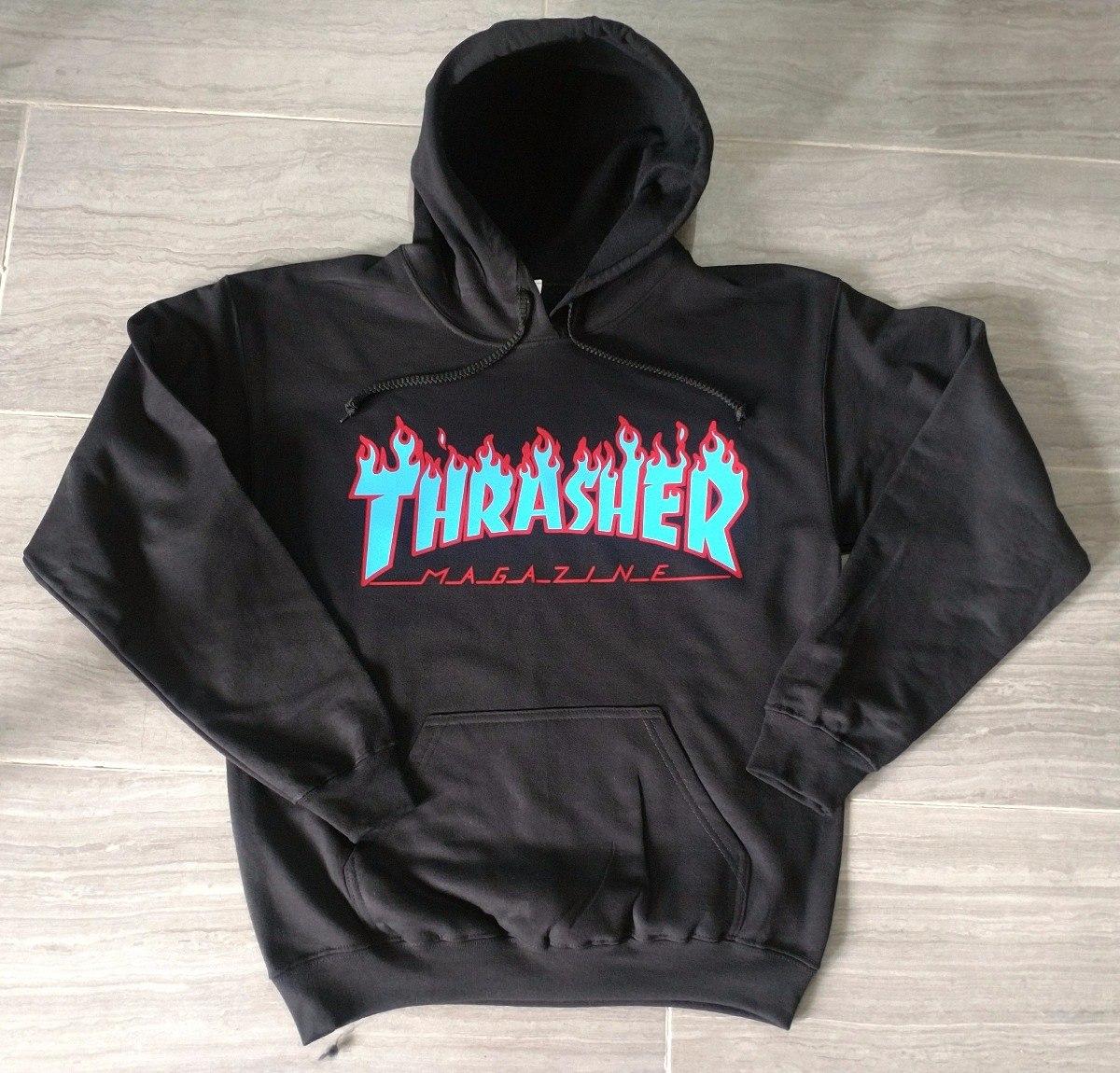 thrasher Flamas Llamas Thrasher Thrasher Skate 465 Sudadera 00 wTqpvxa
