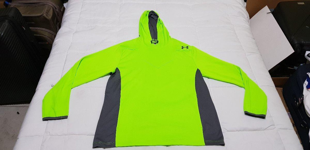 dbb758fc79f Sudadera Under Armour Extra Grande Color Verde Limon - $ 1,299.00 en ...