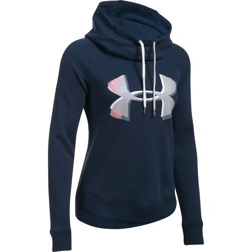828dd7ec55a80 Sudadera Under Armour Hoodies Mujer Fleece Pullover -   1