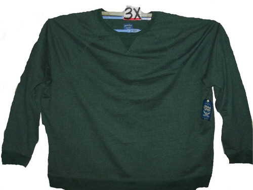 sudadera verde de hombre en tallas 3 x faded glory
