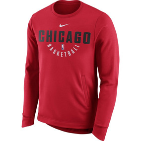 e69c9b01b8116 Sudadera Chicago Bulls Nike Practice Fleece Performance