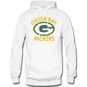 22c352f7af4ac Sudadera Green Bay Packers Nfl Hoodie Capucha Con Cangurera