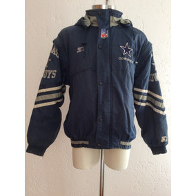 05174ff7980f7 Chamarra + Chaleco 2 En 1 Dallas Cowboys Starter Vintage Nfl