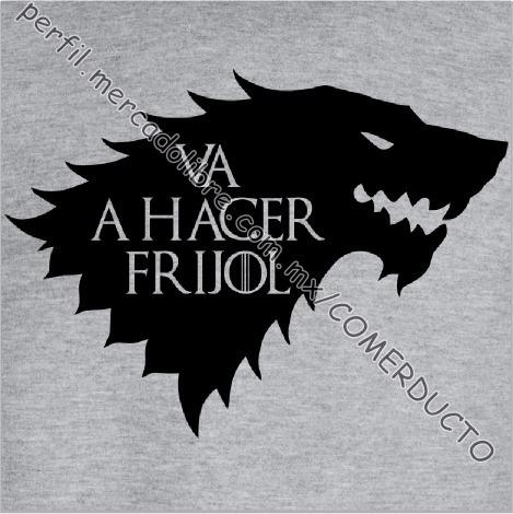 sudaderas game of thrones sudadera stark frijol fwoe