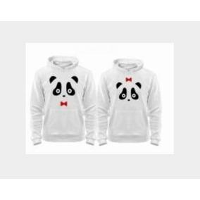 9722bbb2e860e Dúo Sudaderas Par De Pandas Personalizadas Con Sus Nombres
