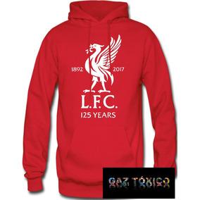 70b86e32b2d4e Sudadera Liverpool Football Club Hoodie Capucha Cangurera