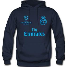 bde855136cfc1 Sudadera Real Madrid Champions League Hoodie Capucha