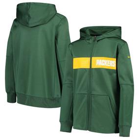 2f42e1ff92892 Packers Sudadera Chamarra Hoodie Nike Nfl Original! Oficial