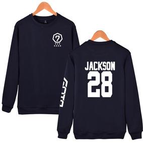 0f1c3132b033c Kpop Got7 Jackson Marca Jb Jr Nombre Ventiladores Apoyo Suda
