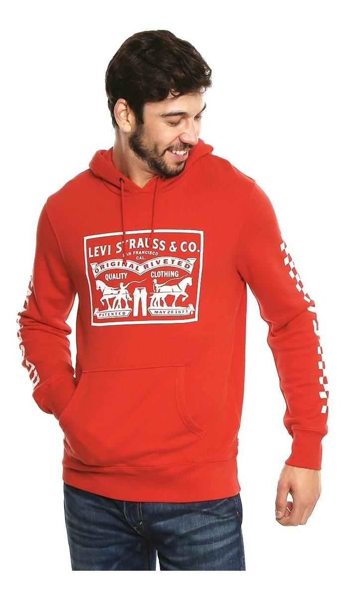 nuevo estilo a0367 253d4 Sudaderas Levi's® Hombre Graphic Po Hoodie-b Rojo 19491-0022
