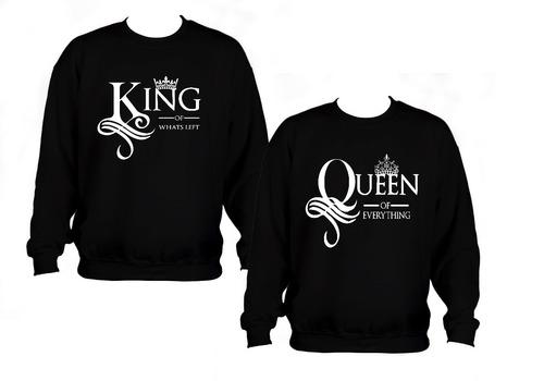 sudaderas novios parejas envio gratis king queen f