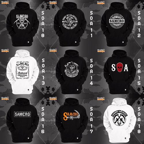 sudaderas sons of anarchy - 19 modelos disponibles!!