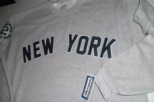 sudera  new york yankees derek jeter bordada majestic