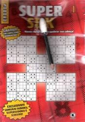 sudoku diabólico samurai supersudoku kakuro + lápis borracha