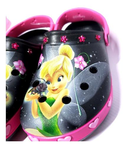 sueco sandalias de goma addnice minnie princesa tinkerbell