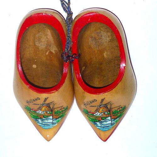 suecos de madera artesanía retro de holanda,decoración 18 cm