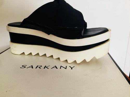 suecos zuecos plataforma sarkany originales