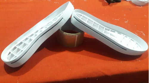 suela pvc para calzado con línea pintada pedidos may a 10 p