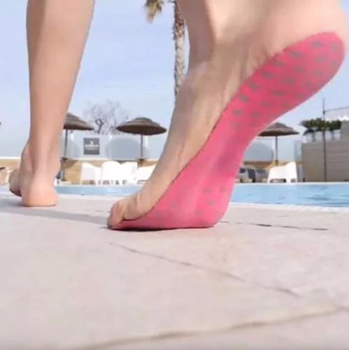 suelas adhesivas skin fit arena playa pileta unisex calzado