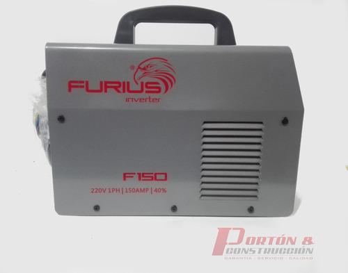suelda soldador furius 150amp 220v