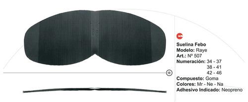suelina febo raye (38-41, marrón oscuro)